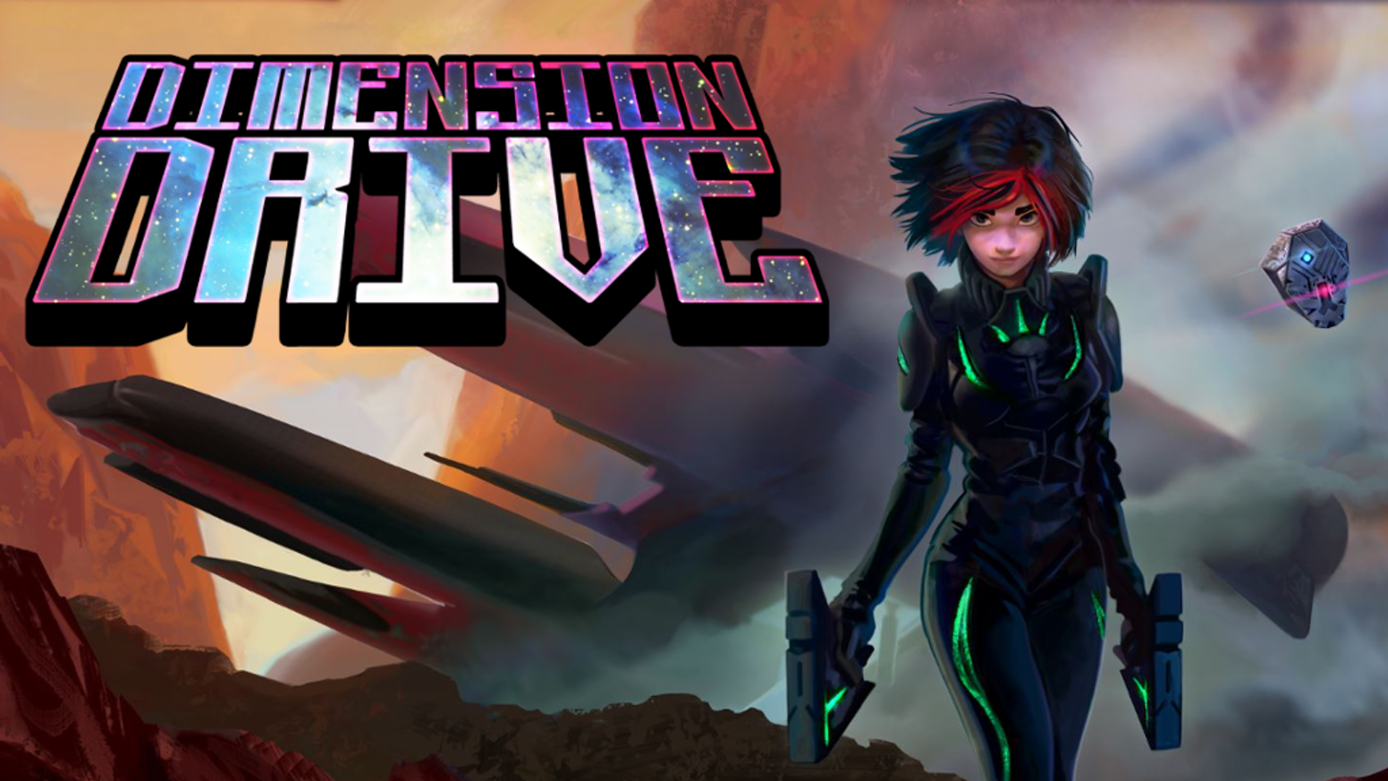 Teleport between two battlefields and fight your way in this comic book style sci-fi adventure!