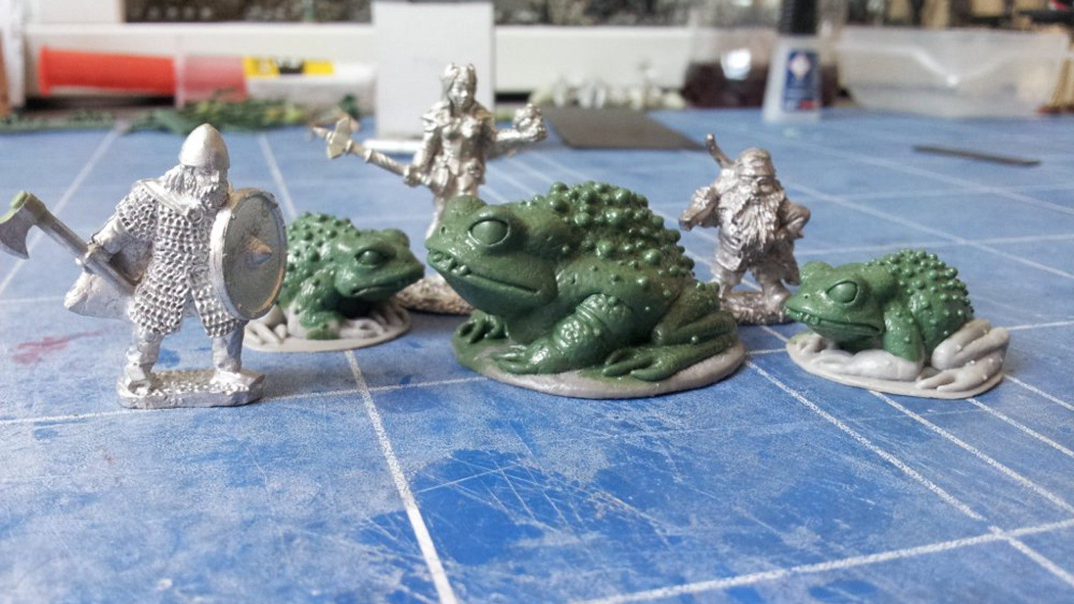 Help me launch Toad King Castings, a 28mm fantasy miniatures company.