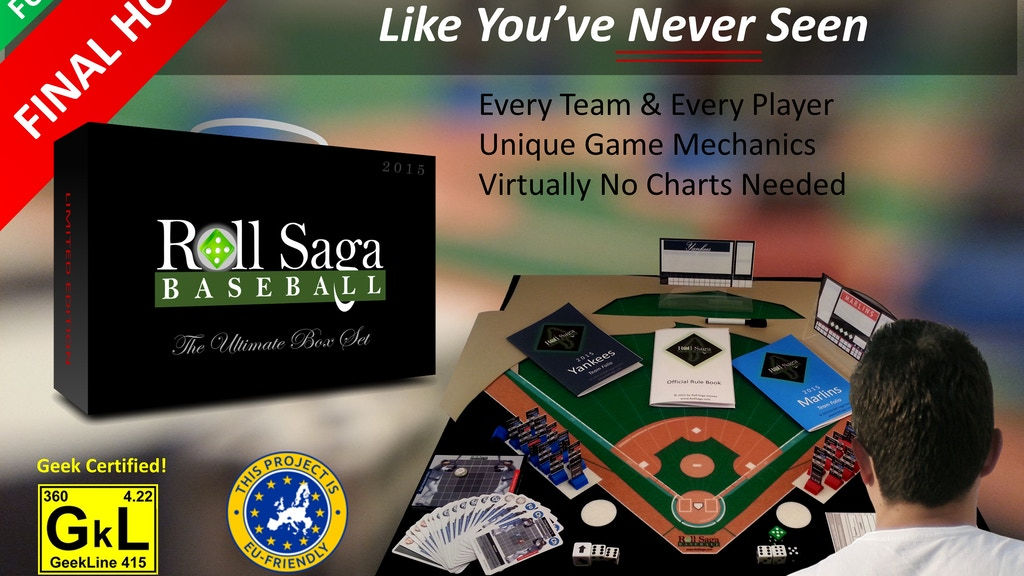 Roll Saga Baseball: An Exciting Game of Action and Strategy! project video thumbnail