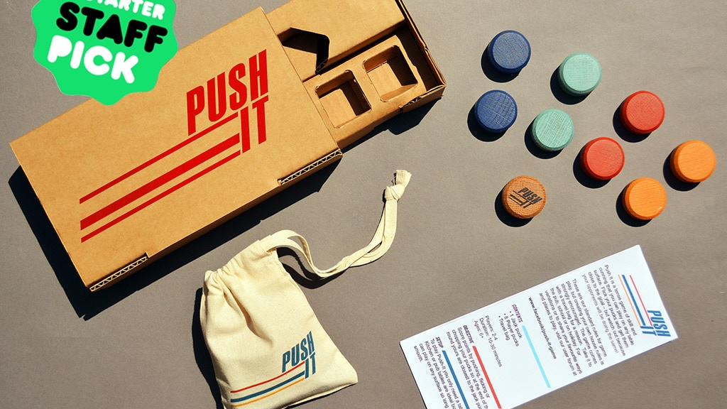 Push It, the table top skill game you can take anywhere! project video thumbnail