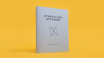 Storyclock Notebook: A Notebook Designed for Screenwriters