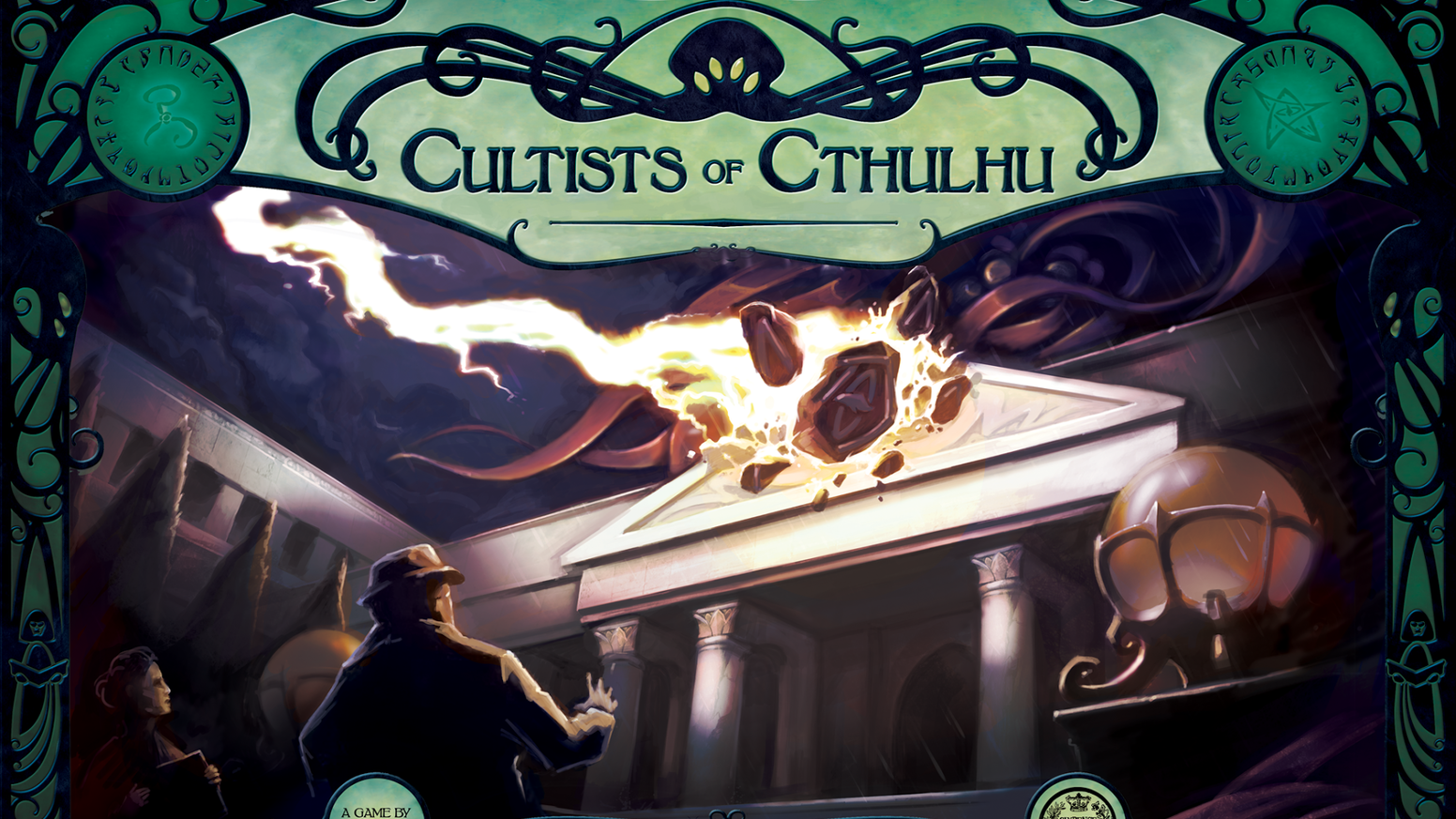 A horror boardgame of teamwork, and betrayal set in H.P. Lovecraft's Miskatonic University, for 1-6 players.