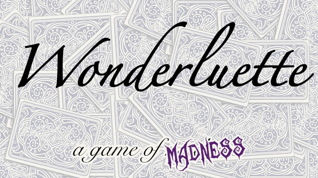 The Mad Hatter's Tabletop Game: Wonderluette project video thumbnail