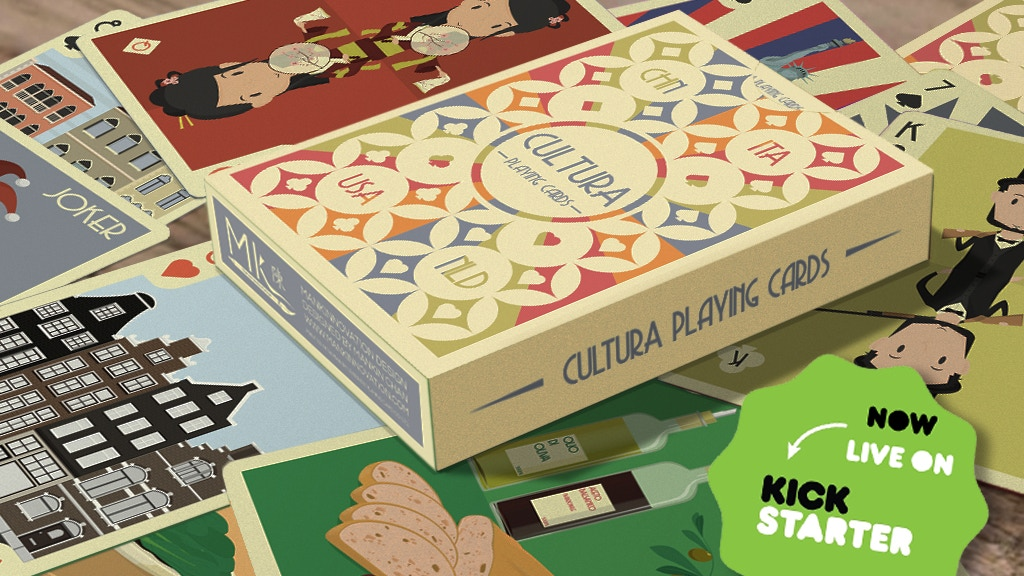 Cultura Playing Cards (Relaunched) project video thumbnail