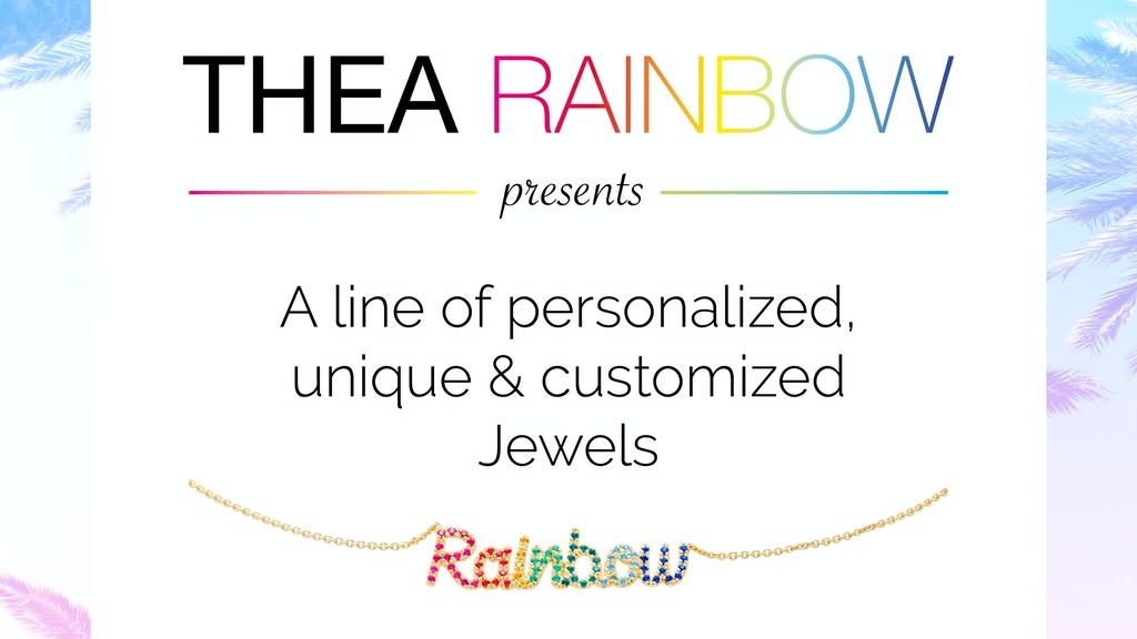 Thea Rainbow project video thumbnail