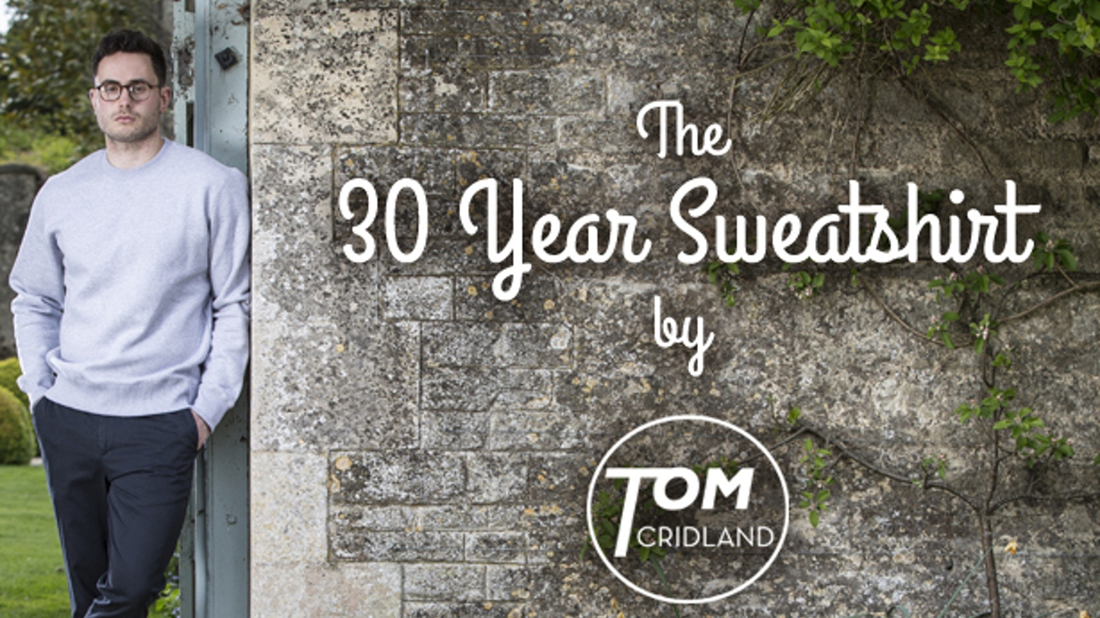 A groundbreaking sustainable fashion project. Premium Loopback Sweatshirts, handmade to last a lifetime and backed with a 30 Year Guarantee.