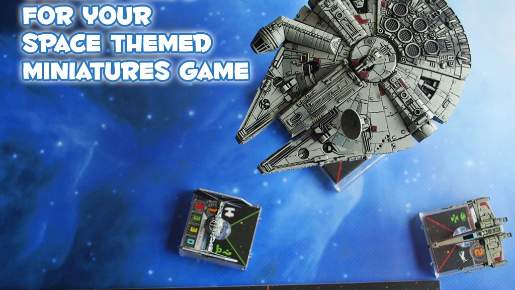 Project image for Space Game Mats - Perfect for Star Wars X-Wing Miniatures