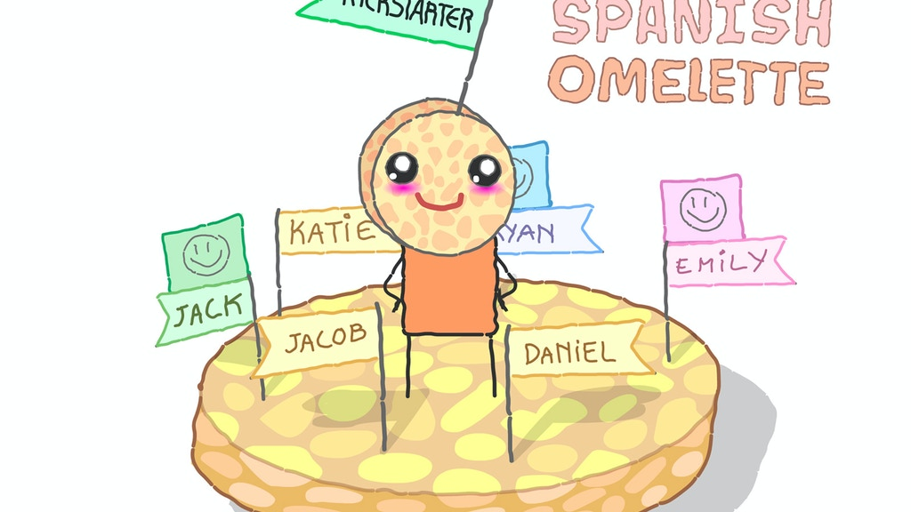 Potato omelette project video thumbnail