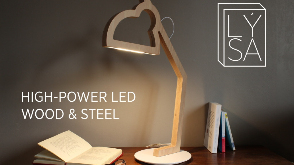 LÝSA | A wood LED lamp in two dimensions project video thumbnail