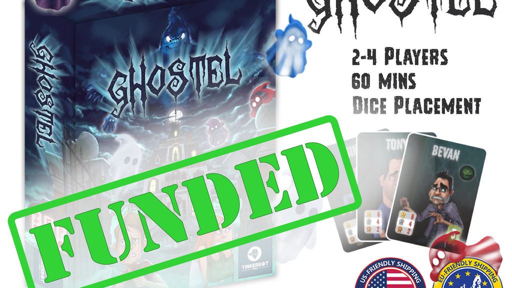 Ghostel: The Board Game project video thumbnail