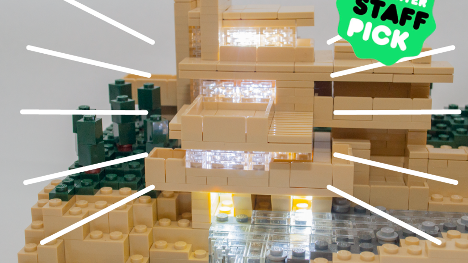 Build Upons are amazingly tiny light up bricks that are LEGO® compatible