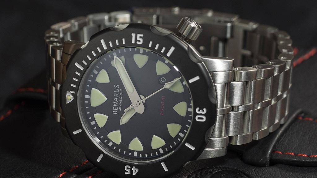 Benarus Megalodon Dive Watch project video thumbnail