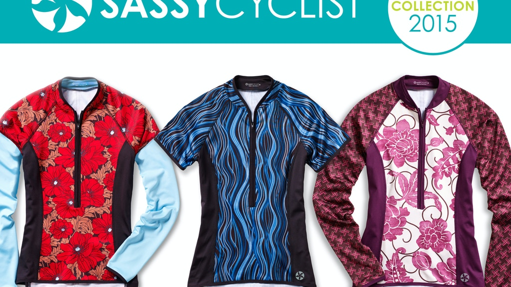 SASSY CYCLIST: Unique Cycling Jerseys for Women project video thumbnail