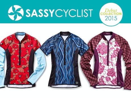 SASSY CYCLIST  Unique Cycling Jerseys for Women by Rebecca Redett ... 93ed13070