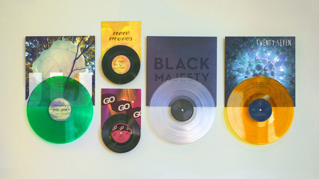 Display Vinyl Records In Style With Record Props project video thumbnail