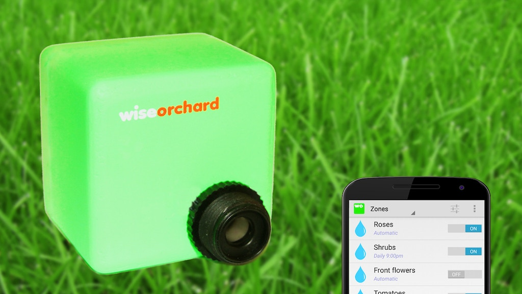 Project image for Wise Orchard: smart watering for your garden
