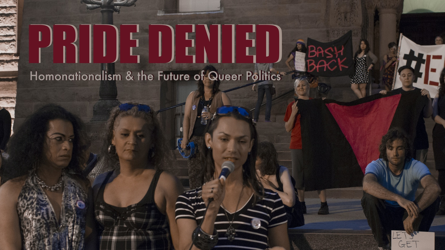 Activists and artists resist assimilation and fight the ongoing oppression of queer, trans, lesbian, gay, and bisexual people.