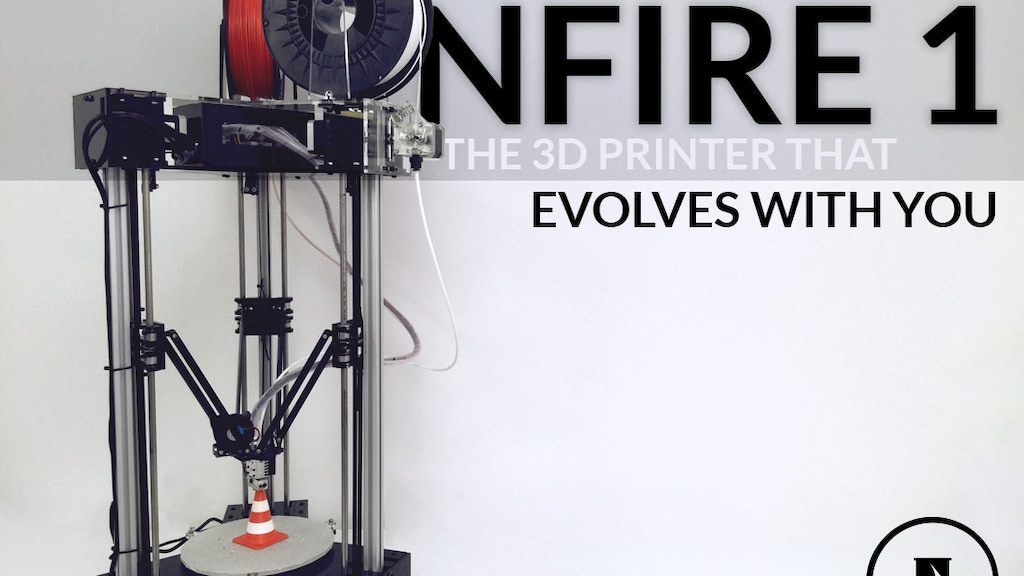 NFire 1 - Worlds First Truly Modular 3D Printer project video thumbnail