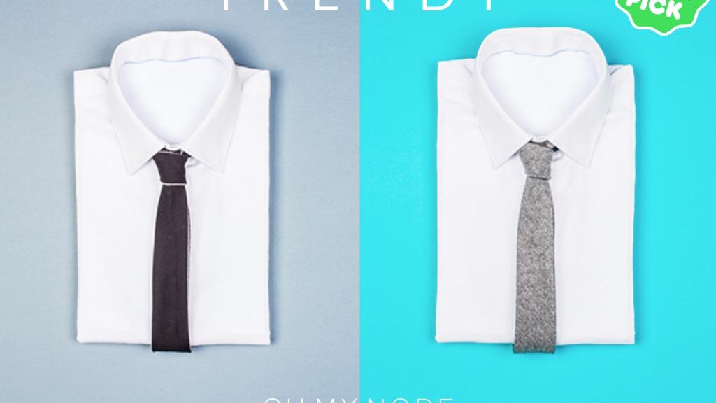 The Reversible Tie - La Cravate Réversible | Oh My Node project video thumbnail