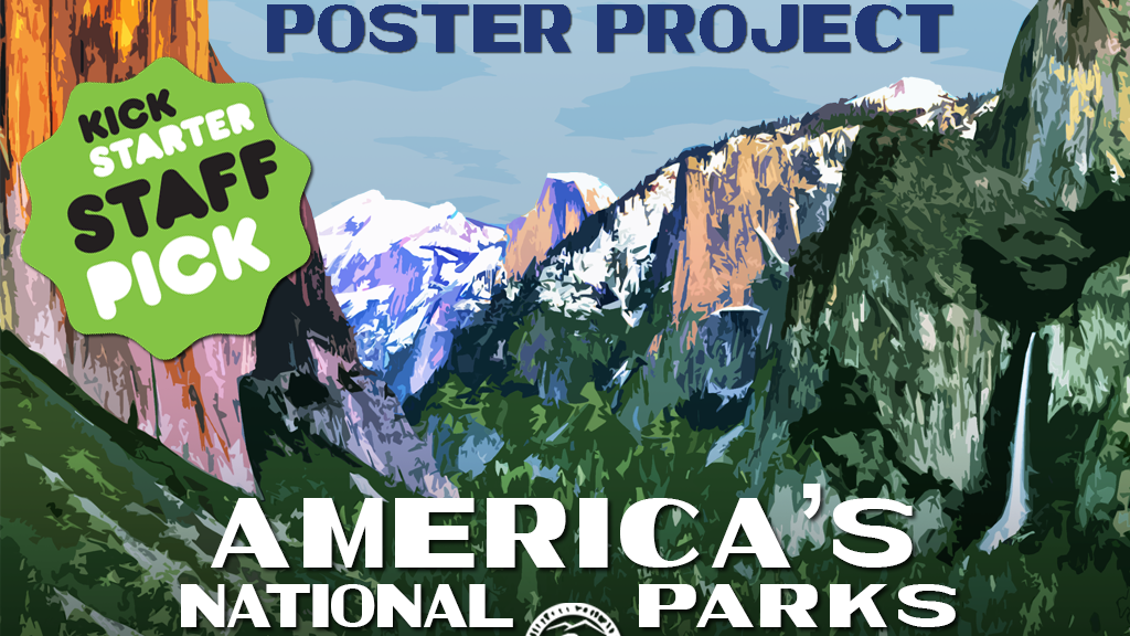 The National Park Poster Project 2015 project video thumbnail