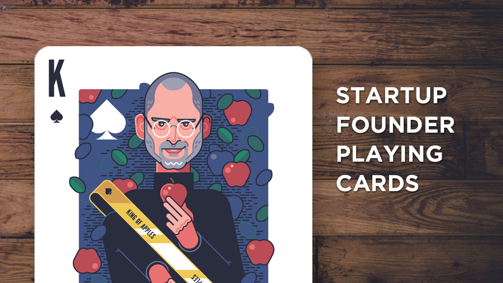 Project image for Startup Founder Playing Cards