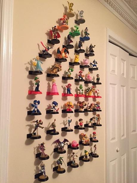 Wall Mounts For Skylanders Disney Infinity Amiibo