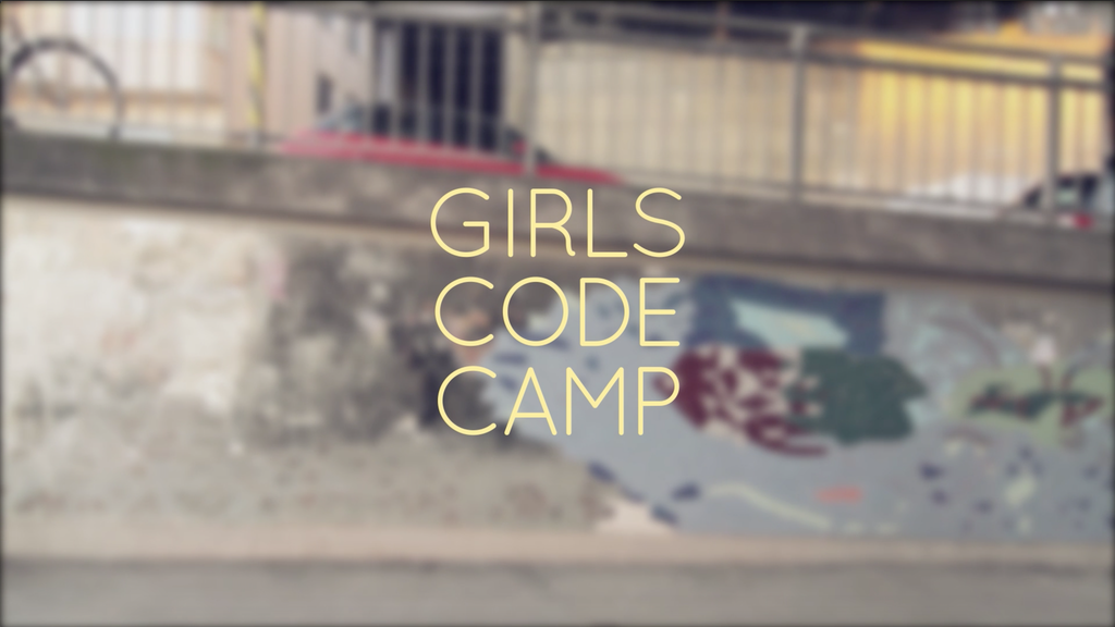 Girls' code camp project video thumbnail
