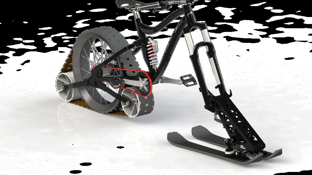 Miniature de la vidéo du projet Avalanche Project : The real winter downhill mountain bike