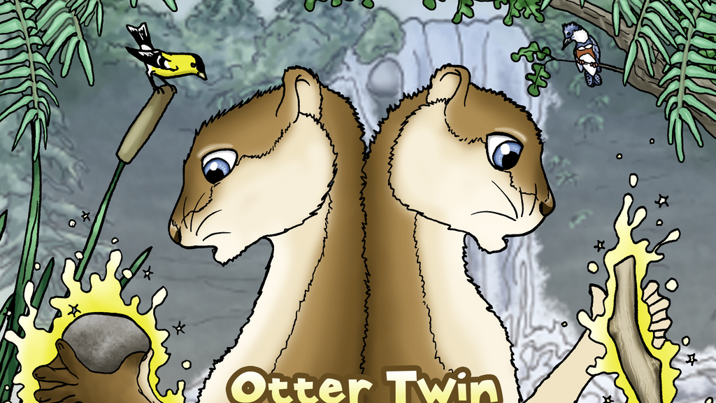 Otter Twin Magic: a children's book project video thumbnail