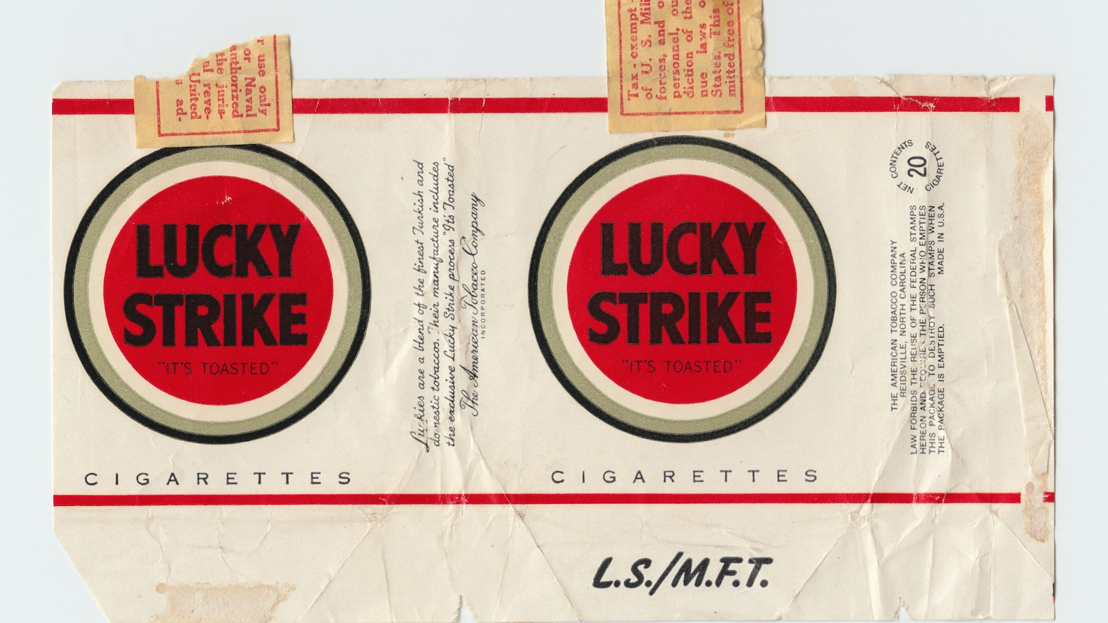 lucky strike a scaled up design icon by tom love kickstarter