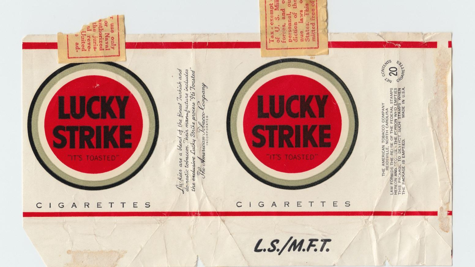 Lucky Strike - A 'Scaled Up' Design Icon by Tom Love — Kickstarter