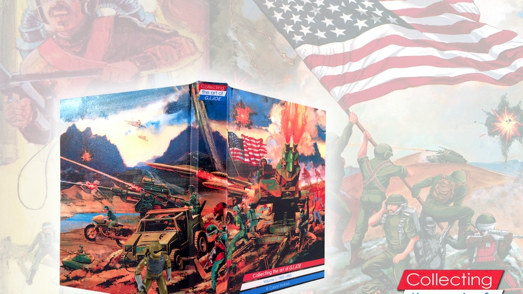 Collecting the art of G.I.Joe: Volume 1 (1982-1983) project video thumbnail