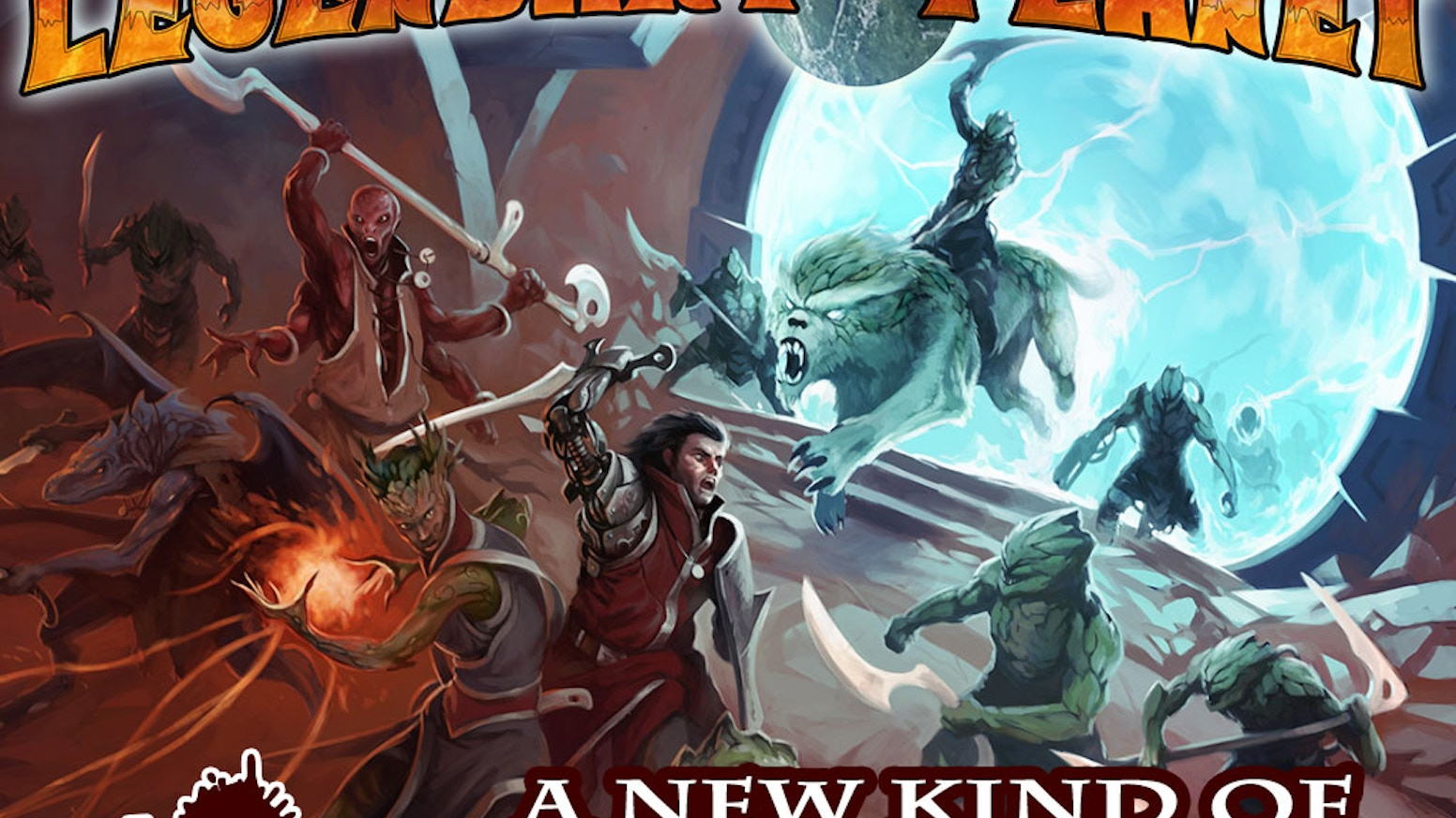 Legendary Games brings you an epic sword & planet adventure saga for Pathfinder and 5th Edition that takes you across the multiverse!