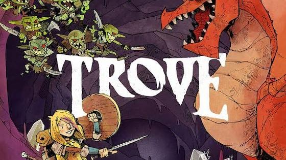 Trove: The Crystal Caverns live on Kickstarter, a super