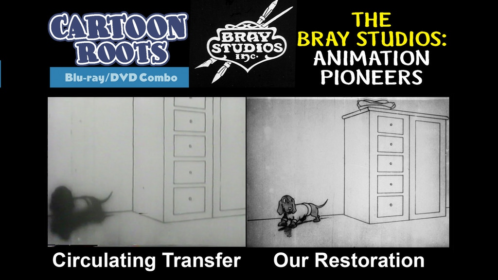 The Bray Studios: Animation Pioneers - Blu-ray & DVD Release project video thumbnail