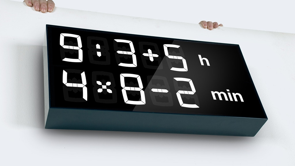 Albert - digital clock for kids (and grownups) project video thumbnail