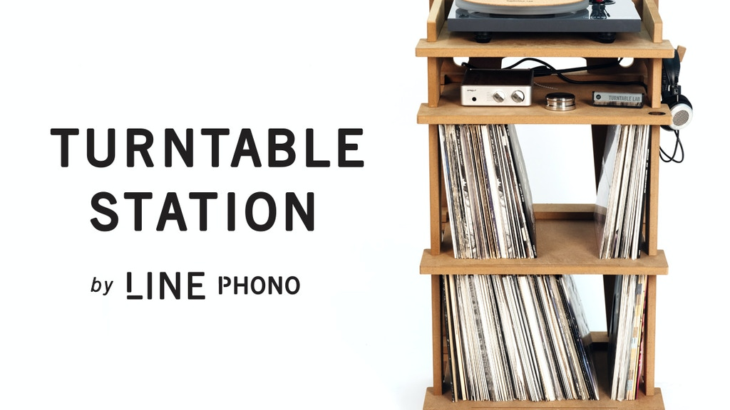 Turntable Station - Audio Furniture Solution project video thumbnail
