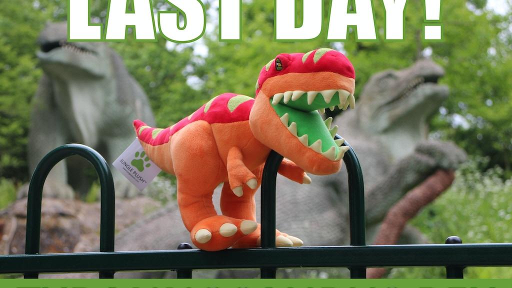 Jurassic Plush T. REX Dinosaur Plush Toys project video thumbnail