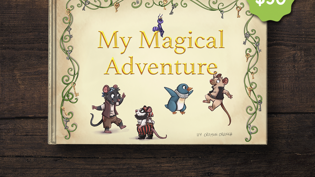 My Magical Adventure: High-Tech Personalized Children's Book project video thumbnail