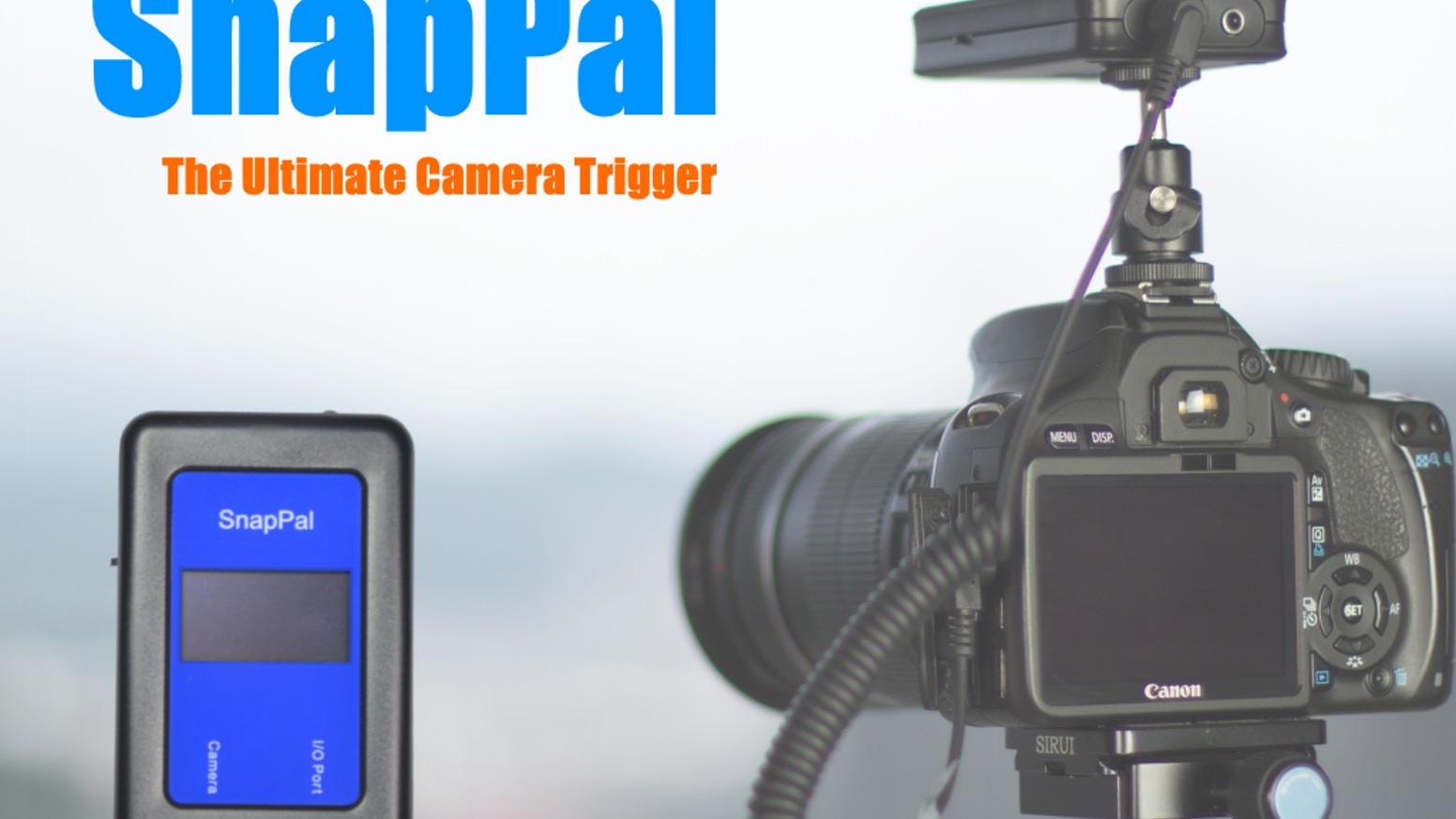 The ultimate, high performance camera trigger for high speed photography, timelapse, motion control and water drop photography