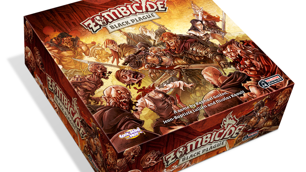 Zombicide: Black Plague project video thumbnail