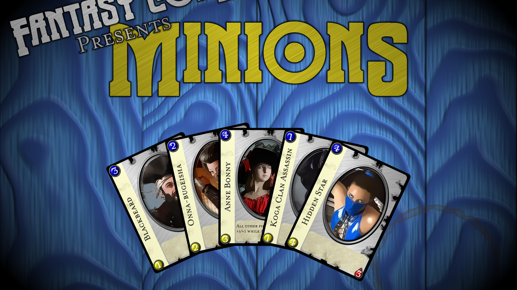 Project image for Minions CCG