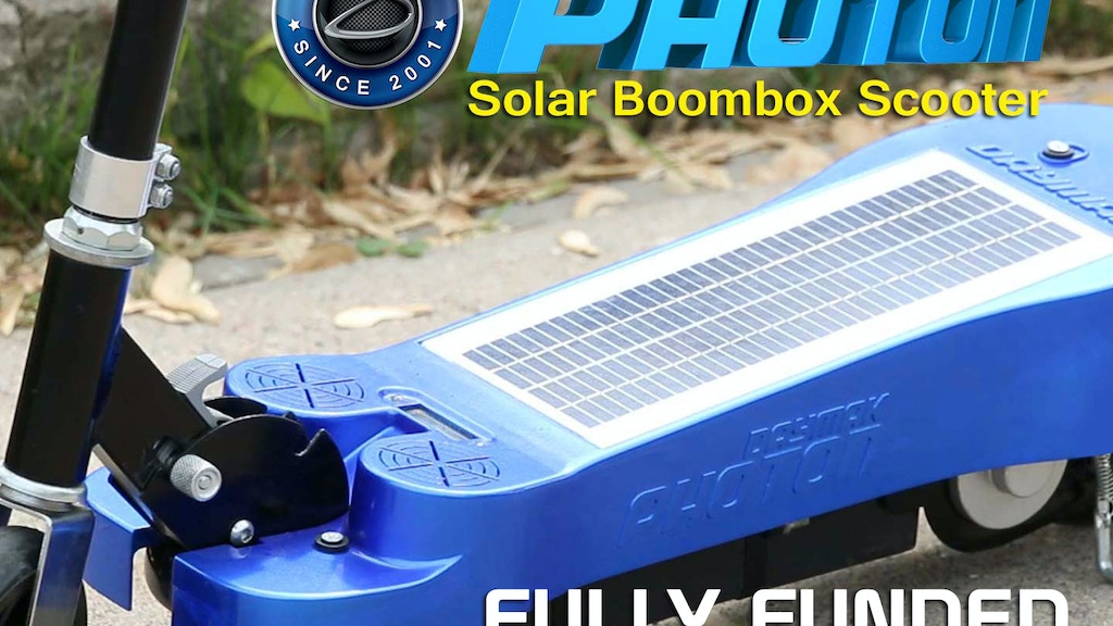 Daymak Photon Scooter project video thumbnail