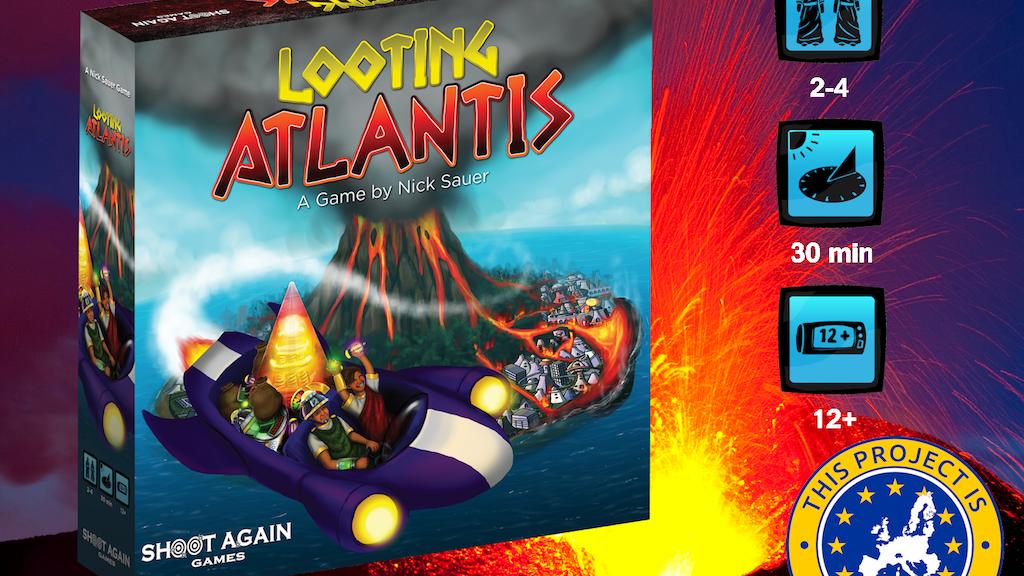 Looting Atlantis project video thumbnail