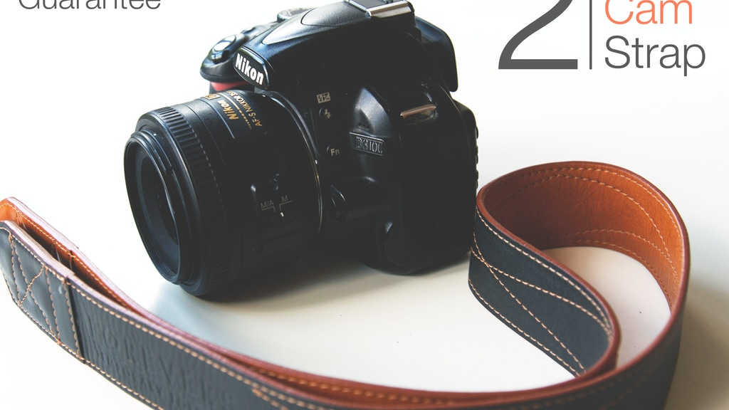 CamStrap - 2 Sided Premium Leather Camera Strap project video thumbnail