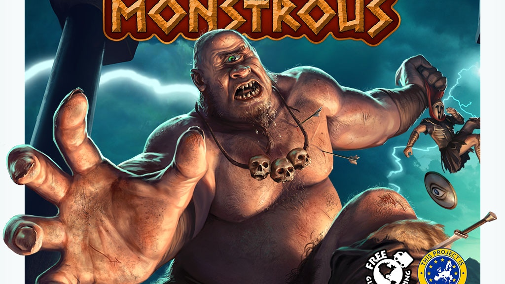 MONSTROUS - The Game of Mythic Mayhem project video thumbnail