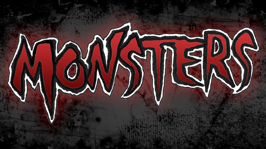 MONSTERS! the anthology project video thumbnail