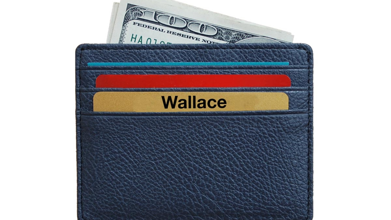 The Wallace, is an ultra slim minimalist wallet. Simple. Elegant. Practical.