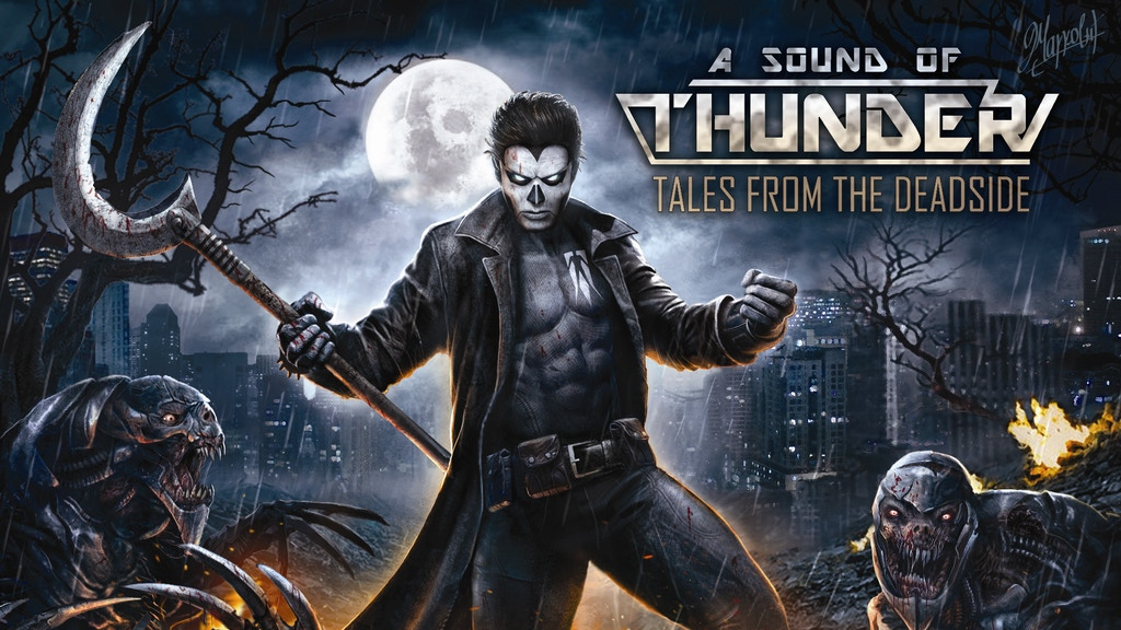 Shadowman Tales From The Deadside By A Sound Of Thunder