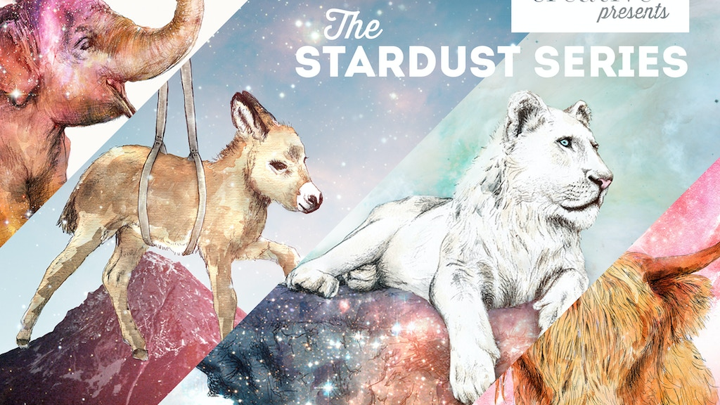 Stardust limited edition print launch project video thumbnail